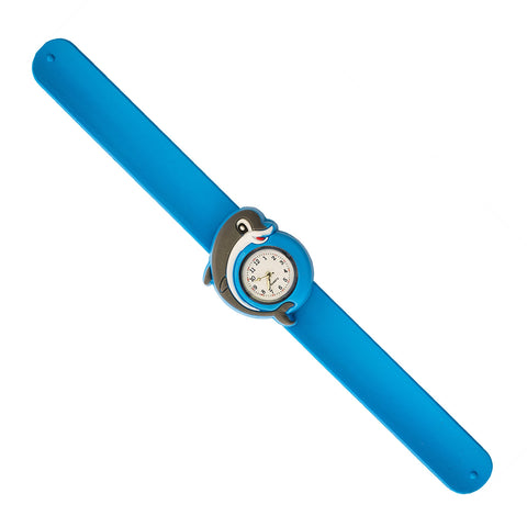 Silicone Dolphin Design Slap Watch with Removable Watch Case ($2.50 ea.)