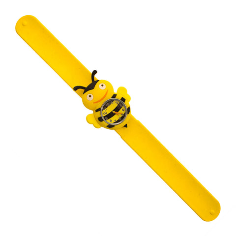 Silicone Bumble Bee Design Slap Watch with Removable Watch Case ($2.50 ea.)
