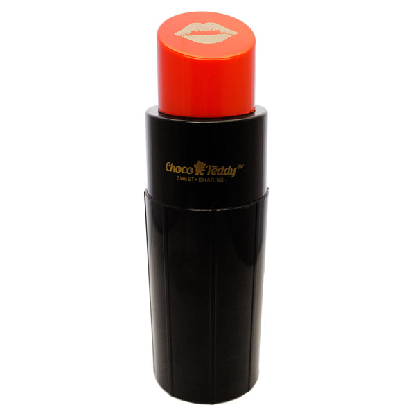 Red Lipstick Choco Teddy Tumbler Water Bottle