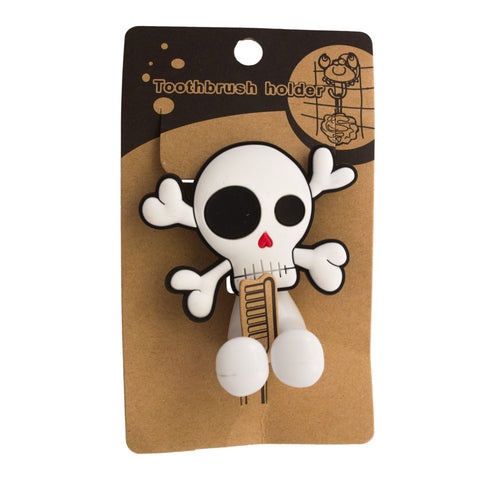 Cute Skull And Crossbone Toothbrush Holder