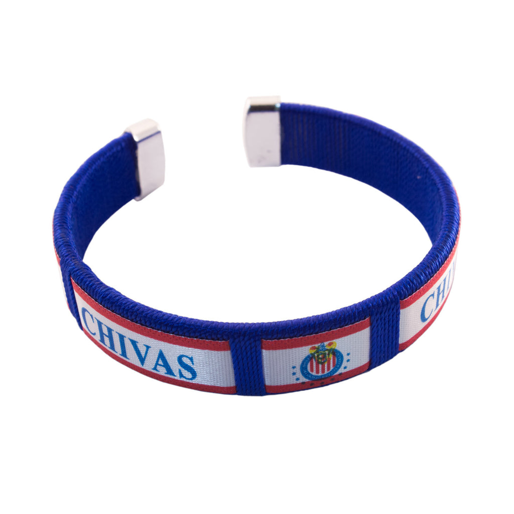 Blue Red Chivas Tube Bracelet Pack of 12