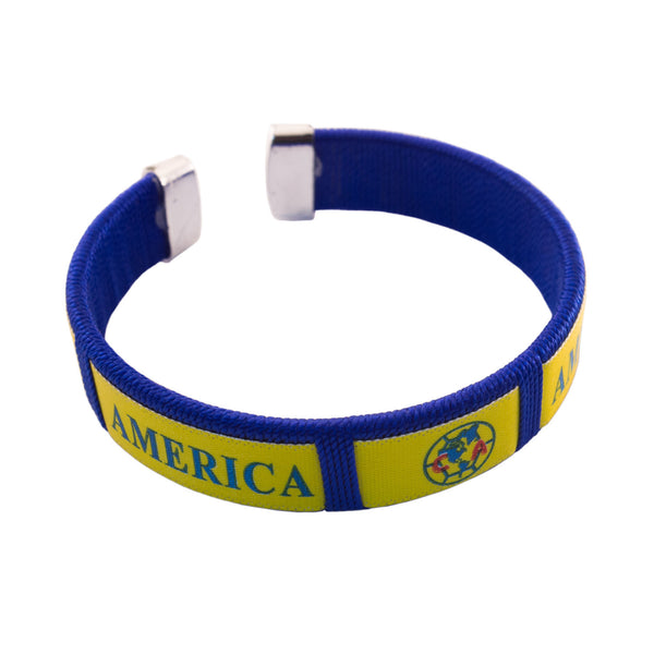 America Bracelet 12 Pcs Pack Blue & Yellow .29 per Bracelet