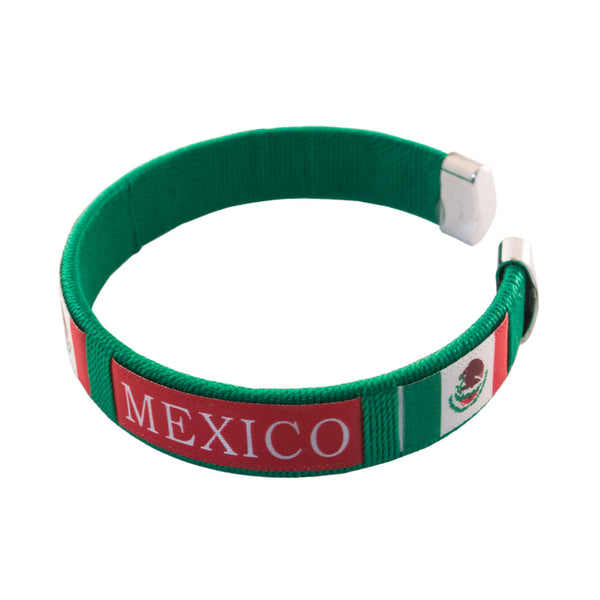 Green-Red Mexico Bracelet
