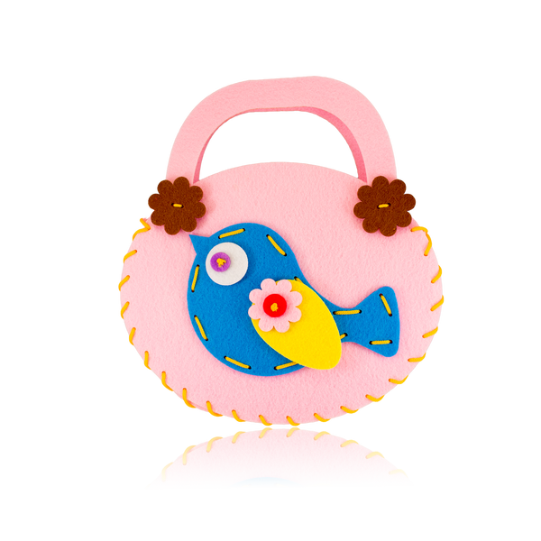 Do-It-Yourself Bird Design Pink Purse ($3.00 each)