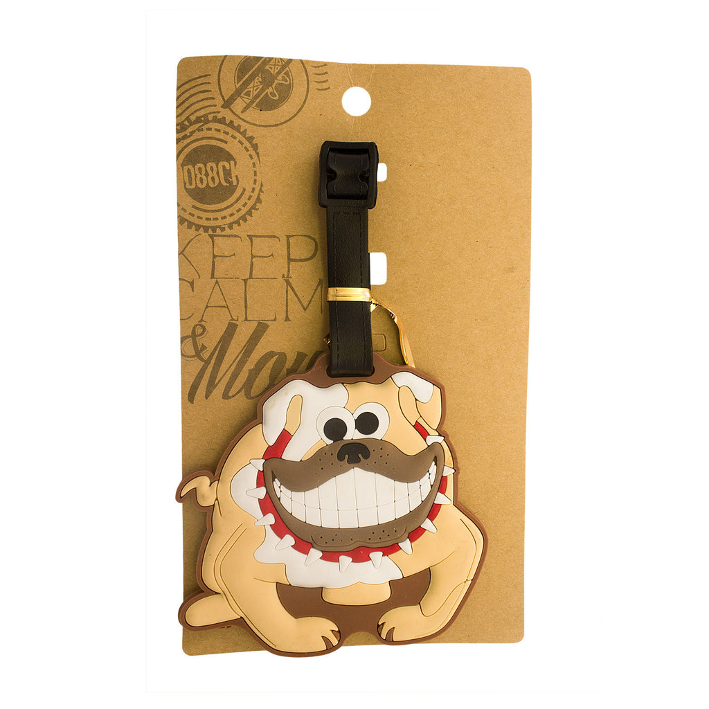 Bulldog Luggage Tag (Comes in packs of 12 - $2.50 each)