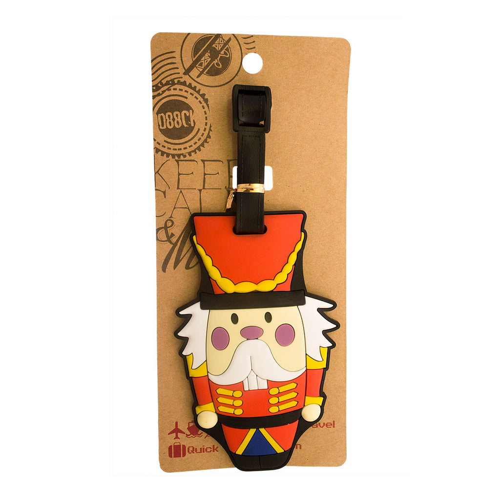 Orange Nutcracker Luggage Tag (Comes in packs of 12 - $2.50 each)