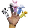 Animal Finger Puppets Plush Pack