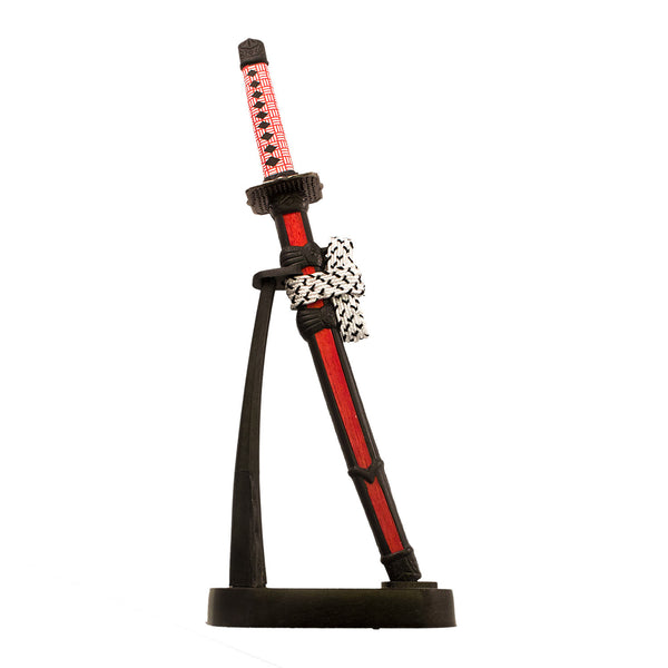 Japanese Samurai Single 8.5 Inch Sword Letter Opener Red