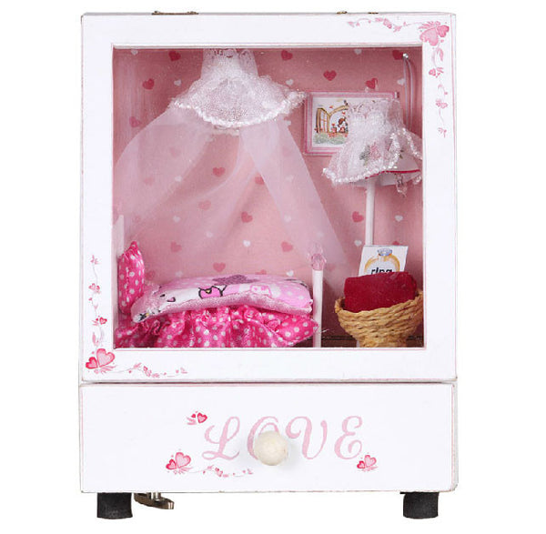 Pink Room Doll House