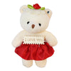 Red Heart Plush Bear Valentine's Gift Box w/ Soap Flowers