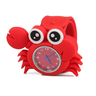 Silicone Crab Design Slap Watch with Removable Watch Case ($2.50 ea.)