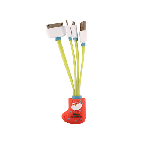 Santa Stocking USB Cable