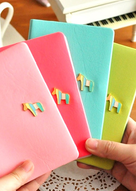 Multiple Color Passport Cover with Horse Pen