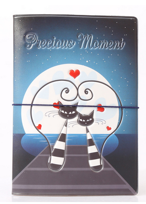 Precious Momement Cats Passport Cover