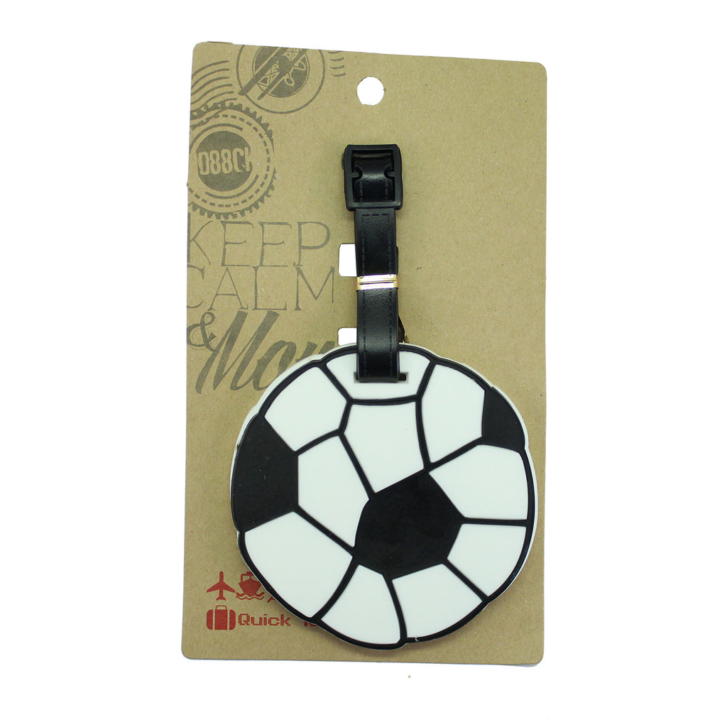 DIY Soccer Ball Luggage Tag (Comes in packs of 12 - $2.50 each)