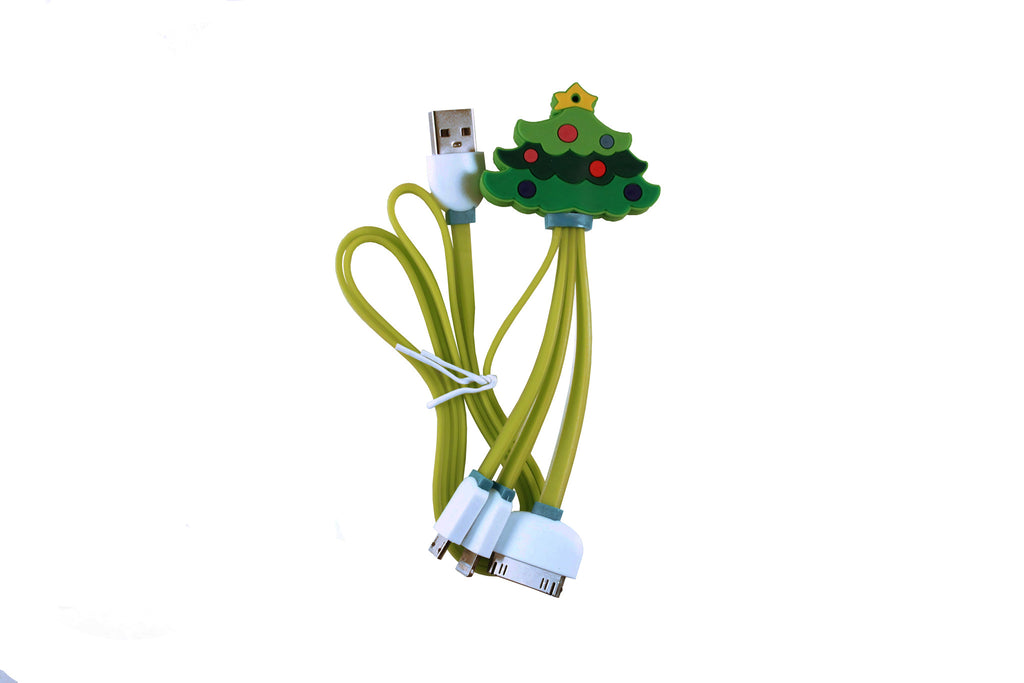 Christmas Tree 3 in 1 USB Cable ($0.00)