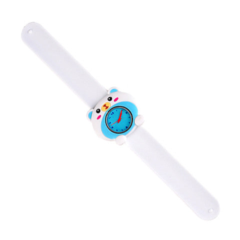 Silicone White Bear Design Slap Watch with Removable Watch Case ($2.50 ea.)
