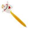 Cute Angel with Heart PVC Ballpoint Pen