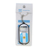 Argentina Bottle Opener Flash Light Key Chain