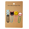 Assorted Paper Clips Small Bookmarks 4 Pcs Pack