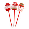 Assorted Santa Snowman Christmas Pens 12 Pcs Pack