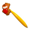 Bear Heart Love PVC Ballpoint Pen