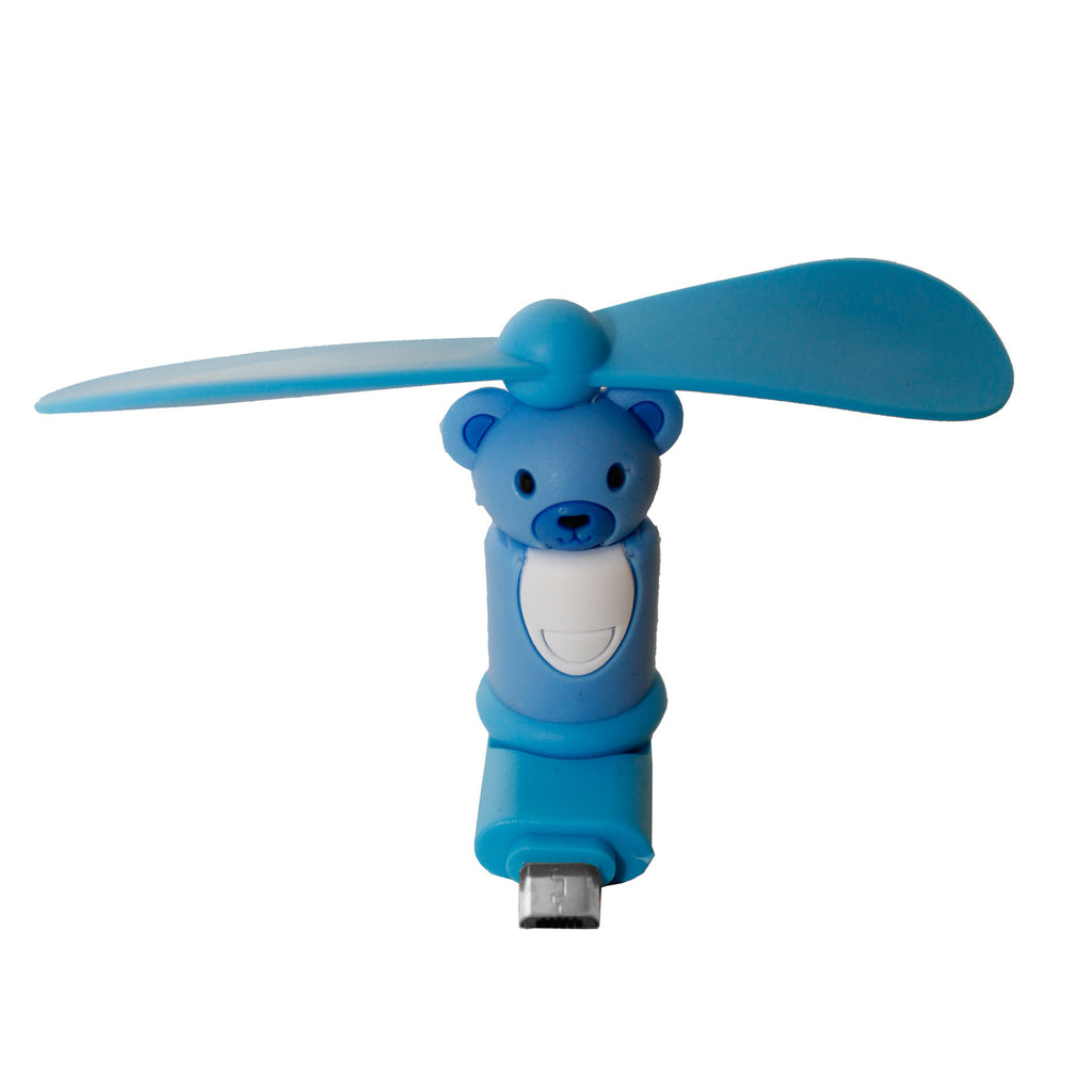Blue Bear Mini USB Fan for Mobile Android Phone and Tablet