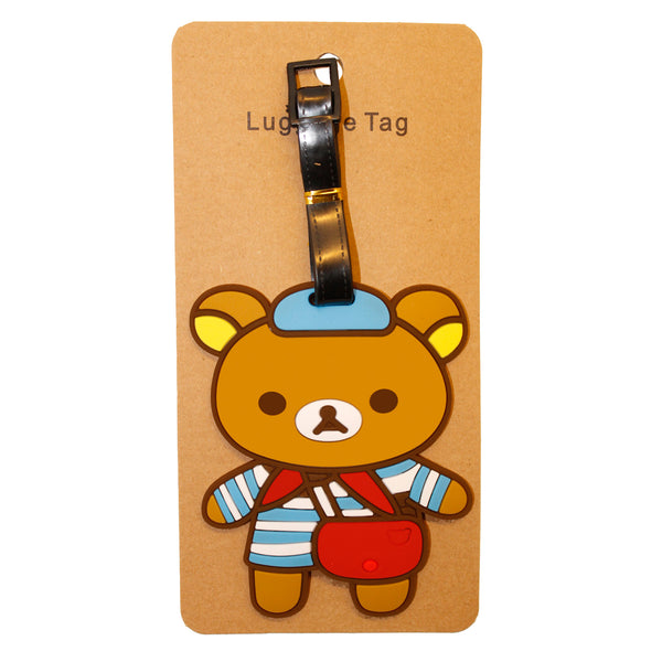 Cute Baby Bear Rilik Kid Luggage Tag (Comes in packs of 12 - $2.50 each)