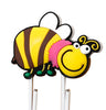 Happy Bee PVC Bookmark Paper Clip