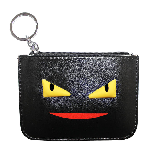 Black Face Cute Wallet Coin Pouch Card Holder
