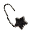 Black Star Glitter Purse Holder Bag Hanger