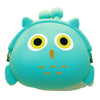 Blue Owl Animal Silicone Coin Purse with Buckle