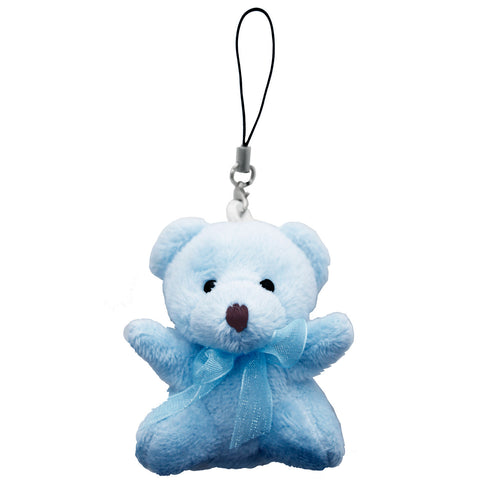 Blue Bear String Hanger Plush Key Chain