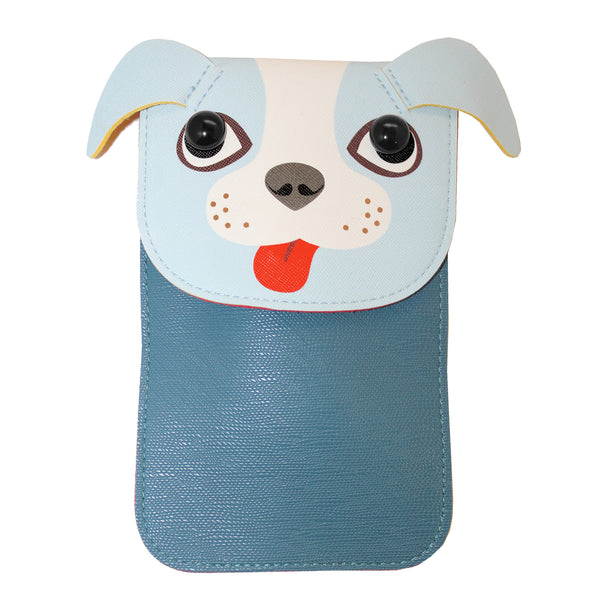 Blue Dog Purse Bag with Strap