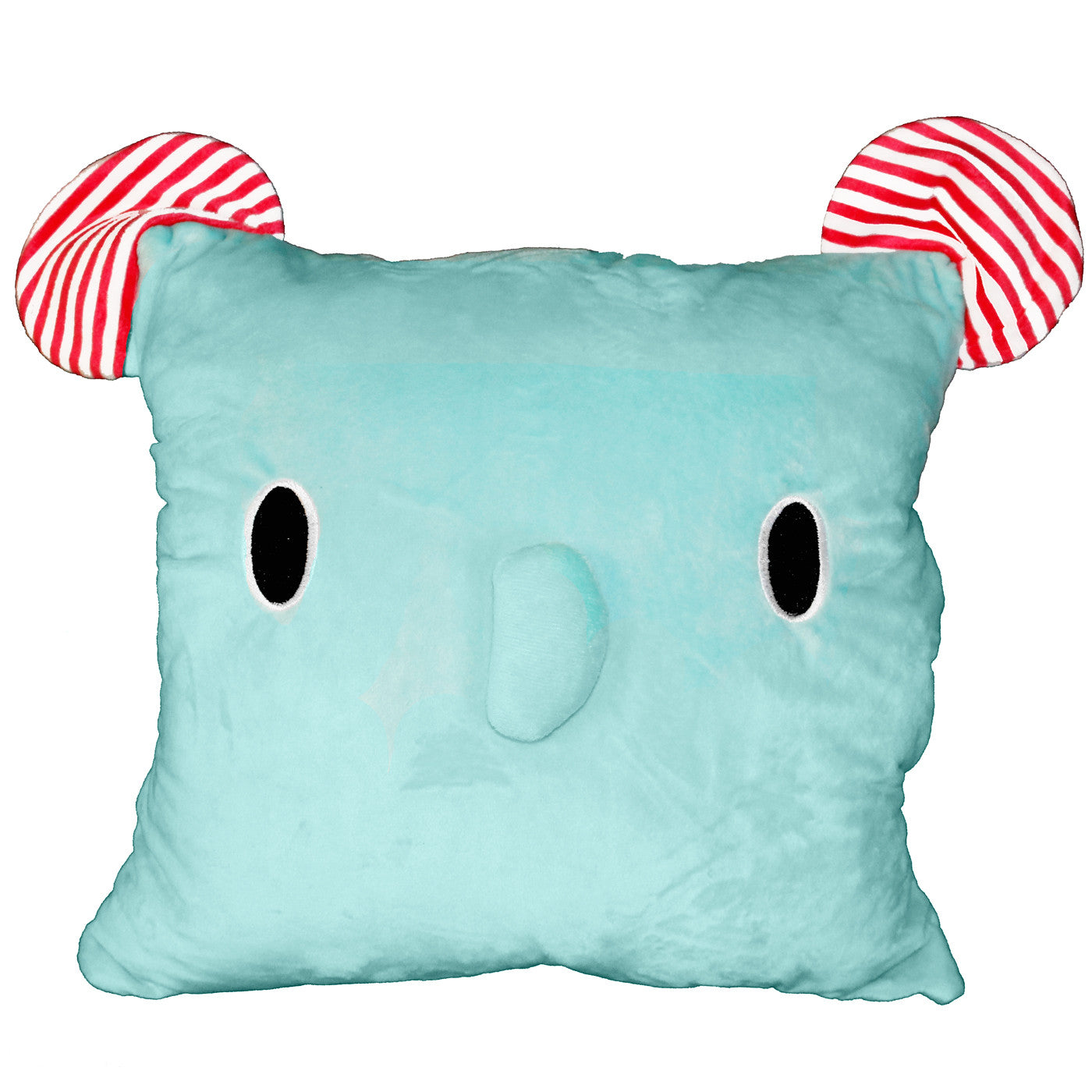 Blue Elephant Soft Plush 3-in-1 Travel Pillow Hand Warmer w ... for Pillow And Blanket Clipart  45hul