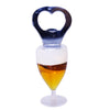 Miniature Tulip Glass Beer Bottle Opener Fridge Magnet