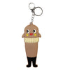 Brown Cartoon PVC Key Chain
