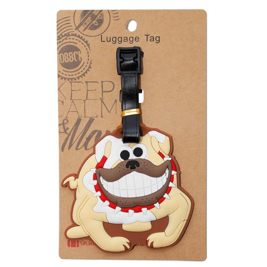 DIY Bulldog Luggage Tag (Comes in packs of 12 - $2.50 each)