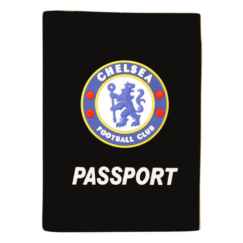Black Chelsea Football Club Passport Cover