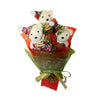 Christmas Hard Foam Bears with Rhinestones Bouquet (Comes in box of 30 - $7.50)