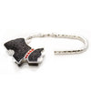 Black Dog Glitter Purse Holder Accessory Bag Hanger