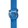 Blue Dolphin Silicone Slap Watch