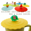 Green Elephant Suction Cup Lid Mug Cover
