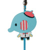 Blue Elephant PVC Photo Holder Business Card Clip Hanger