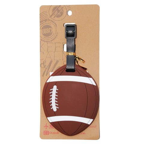 American Football Luggage Tag (Comes in packs of 12 - $2.50 each)
