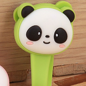 Panda Bear Earphone Tie