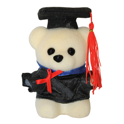 Hard Foam Graduation Bear with Toga (Comes in pack of 10 - $0.75)