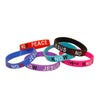 Know Jesus Know Peace Silicone Wristband Bracelet Assorted Color 12 Pcs Pack