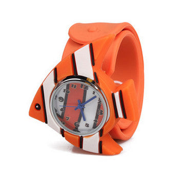 Silicone Fish Design Slap Watch with Removable Watch Case ($2.50 ea.)