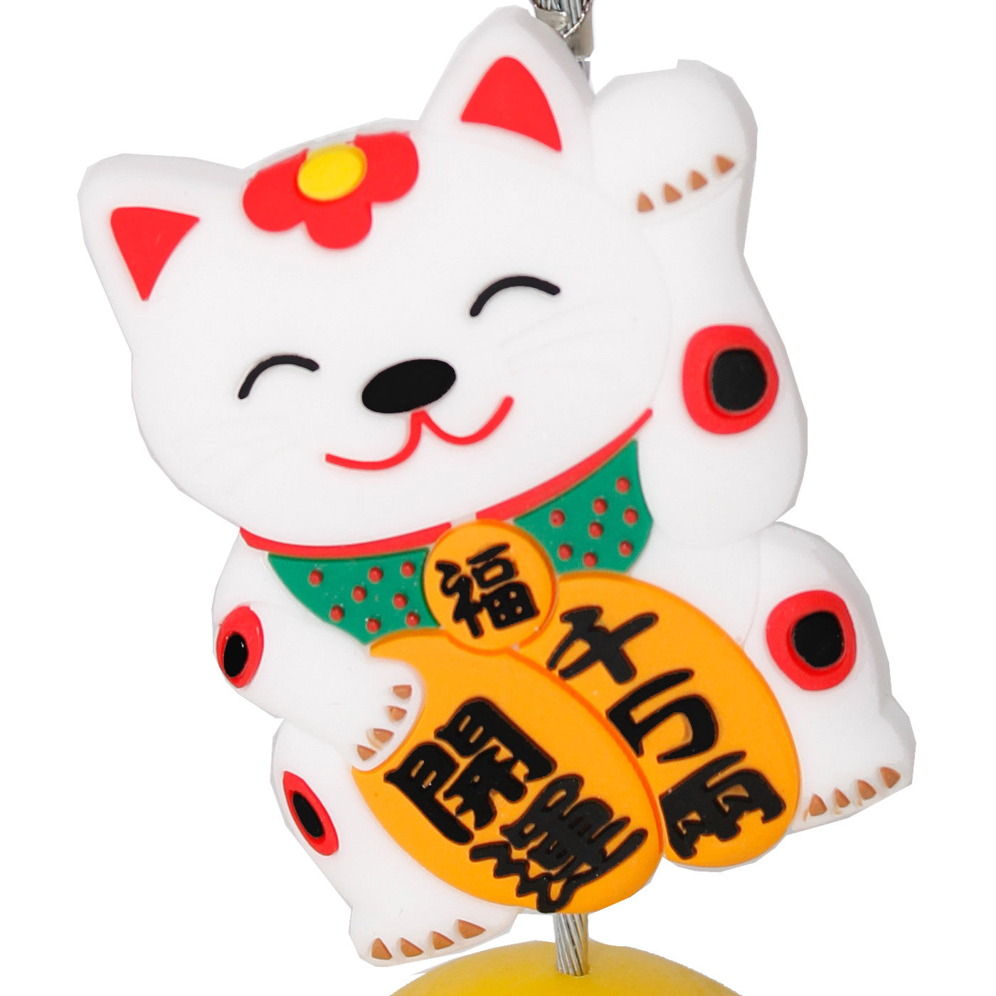 Chinese Lucky Cat Photo Holder Business Card Clip Hanger ...